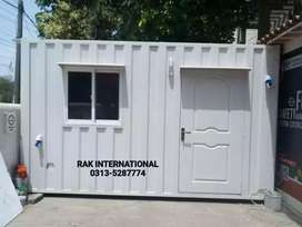 Dry & office container porta cabin prefab room toilet/washroom guard..