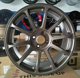 AMW wheels VELG RAYS ZE R17x7.5 PCD 4x100 OFFSET 42 BUAT JAZZ