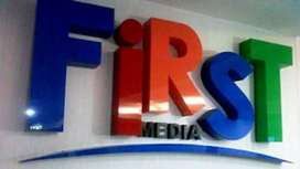 First Media Wifi TV kabel