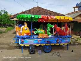 PROMO odong panggung fiber truk isi komplit super murah meriah NLS