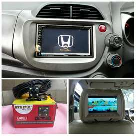 Paket head unit TV Jok plus kamera buat Honda