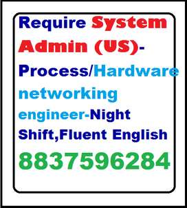 Require System Engineer,Hardware & networking engineer