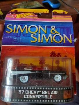 Hotwheels SIMON&SIMON '57 CHEVY BEL AIR CONVERTIBLE