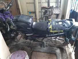 Very well maitained and good condition bike but no insurance