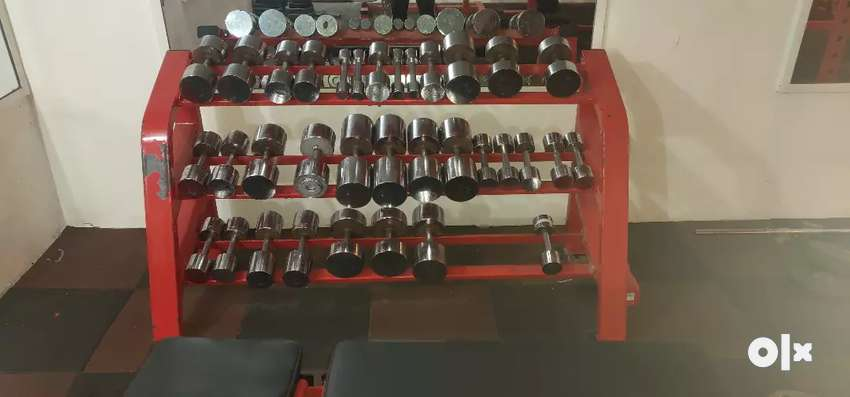 300kg dumbell stack for 24000rs 0