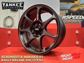 Velg Vios, Velg Nissan March, Velg Freed dll HSR Wheel Ring 16