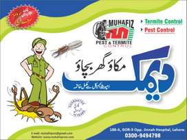 Deemak Control, Fumigation Spray, Cockroaches and Bedbugs Treatment