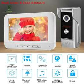7 Inch Video Camera Intercom Doorbell