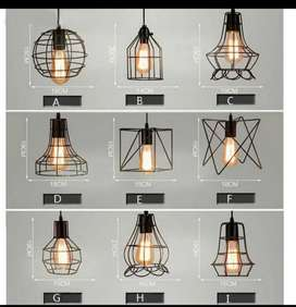 Kap lampu cafe kap lampu gantung kap lampu vintage kap lampu hias