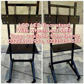Lcd led tv portable stand