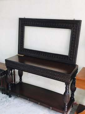Wooden console table brand new