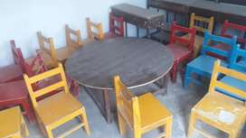 School furniture small cheer and desk