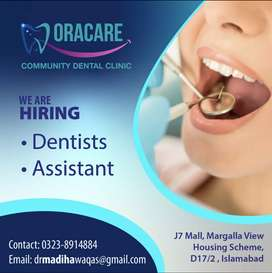 Dentist & Assistant