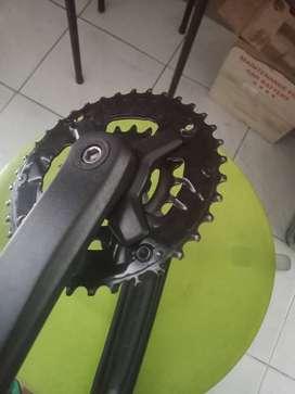 crank + chainring + BB kotak