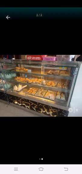 Cold fridge counter &bakry counter