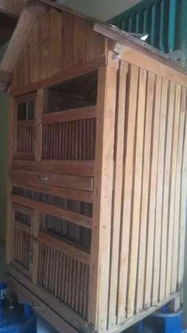 Jual kandang kayu msh sangat terawat