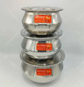 STAINLESS STEEL HANDI SET 6 PIECES BEST QUALITY PRODUCT