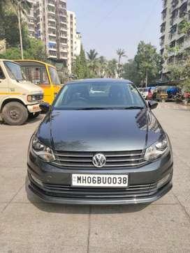 Volkswagen Vento Comfortline Diesel Automatic, 2017, Diesel