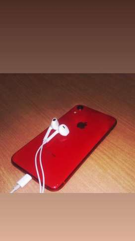 I phone xr brand new condition used by girl red color