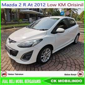 [Dp19jt] Mazda 2 R At 2012 Low Km Orisinil Bisa Kredit