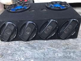 2 woofers 4 speaker