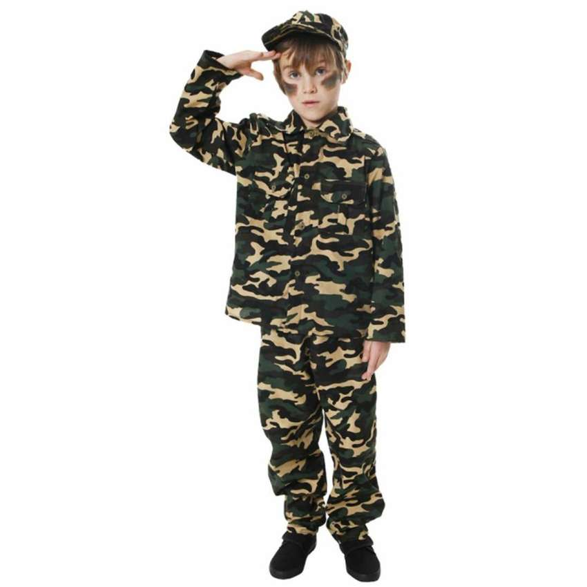 Army Commando Uniform Dress for Kids 0