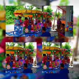 model kartun dobel atap bahan fiberplat