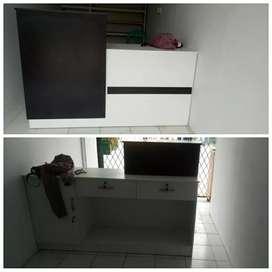 Menerima pesan pembuatan meja kasir minimalis