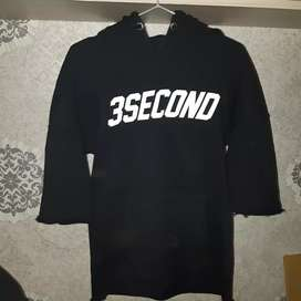 Jaket hoodie 3second