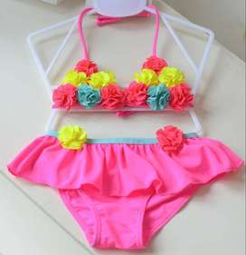 Two Piece Kids Girls Swimwear and Bathing Suits for 3-6 year