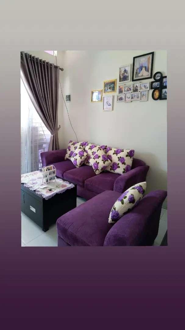 Di Jual Sofa 3.2 warna ungu 0