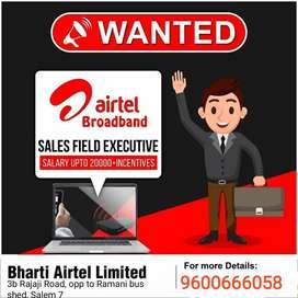 Airtel Fiber Executive