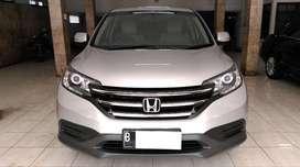 Honda CRV 2.0 AT 2013 Silver km 50rban tgn 1 dr baru