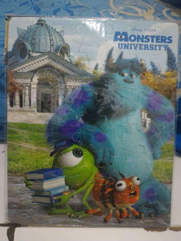 Mainan Anak Sponge Puzzle Monster University 0