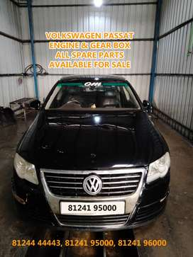 VOLKSWAGEN PASSAT ENGINE-GEAR BOX - ALL SPARE PARTS AVAILABLE   GENUIN