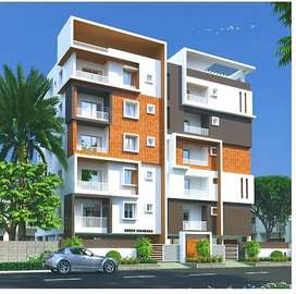 1650 sq ft 3 BHK Flats for sale at Nizmpet  with Servant quarters