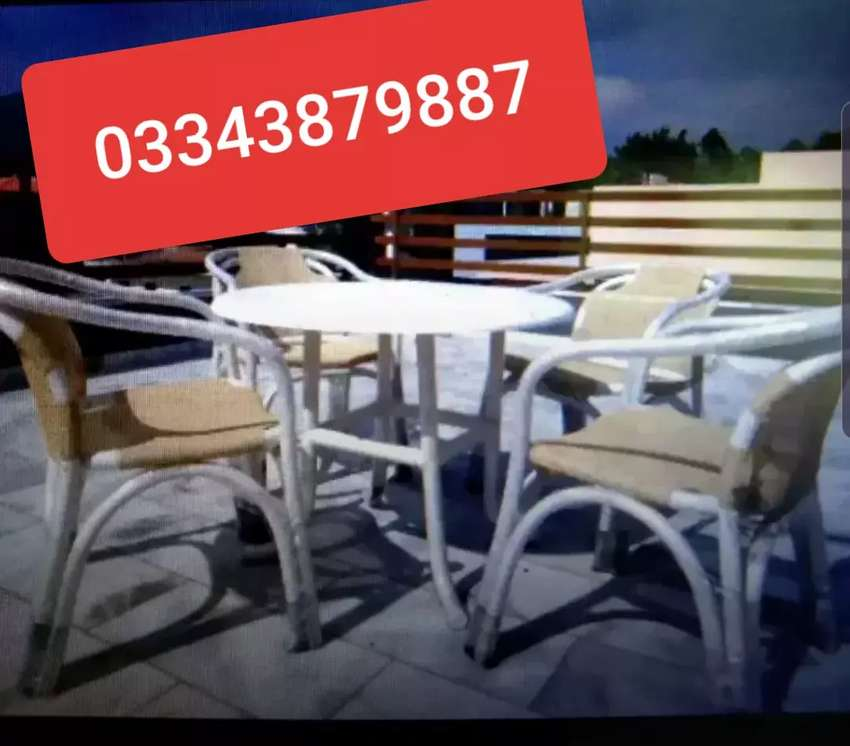 UPVC Chairs for Roof Top 0