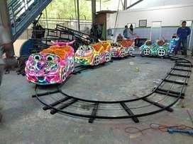 kereta rel lantai mini coaster mainan eskavator beko keruk L05