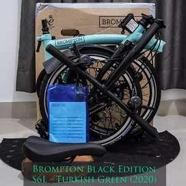 Brompton Black Edition S6L - Turkish Green (BNIB) - 2020