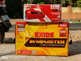 Exide Home ups & Battery (Inverter)