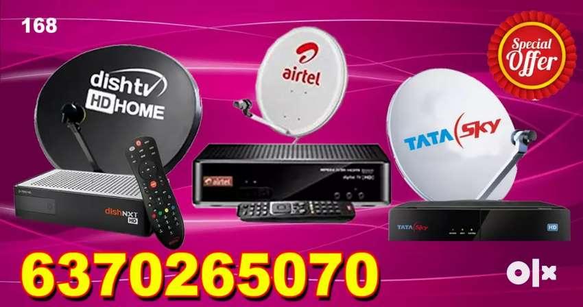 TATA SKY ! DISH TV !VIDEOCON D2H ! DTH CONNECTION !  AIRTEL DIGITAL TV 0