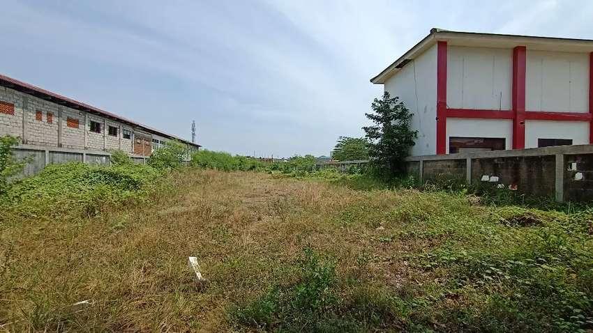 Disewakan Tanah Kavling Luas di Pinggir Jalan Raya Perjuangan Bekasi