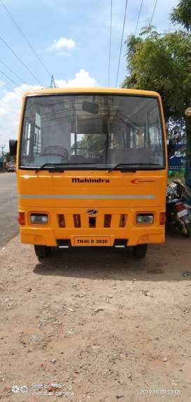 Mahindra school bus