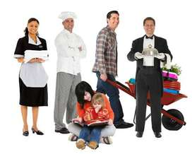 Maid, Baby sitter, Cook, Nanny, Driver and many more