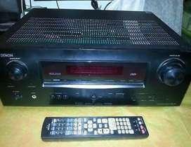 Dj Denon avr1611 receives amplifie working sound but no display rs7000