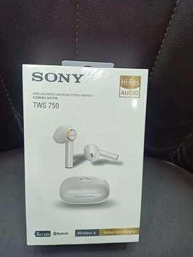Sony TWS 750 BT Handfree  The Best Sound Quality & Battery Timing