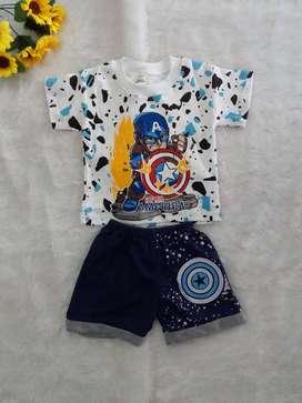 Baju Setelan Bayi Karakter