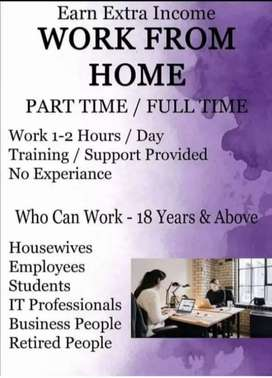 Part time job for ladies