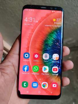 Samsung s8+.  6/64.      Complete box dual sim pta approved