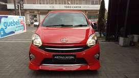Astina Mobil DP PROMO 9 JT TOYOTA Agya 1.0 G TRD AT Matic 2015 Merah